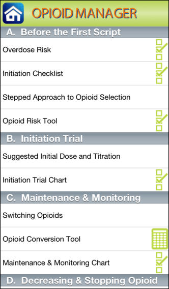 Opioid Manager Opioid Management Tools Resources And Education